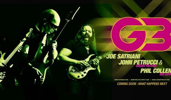 Joe Satriani, John Petrucci & Phil Collen at Rochester Auditorium Theatre