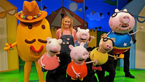 Peppa Pig at Rochester Auditorium Theatre