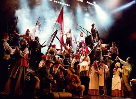 Les Miserables at Rochester Auditorium Theatre