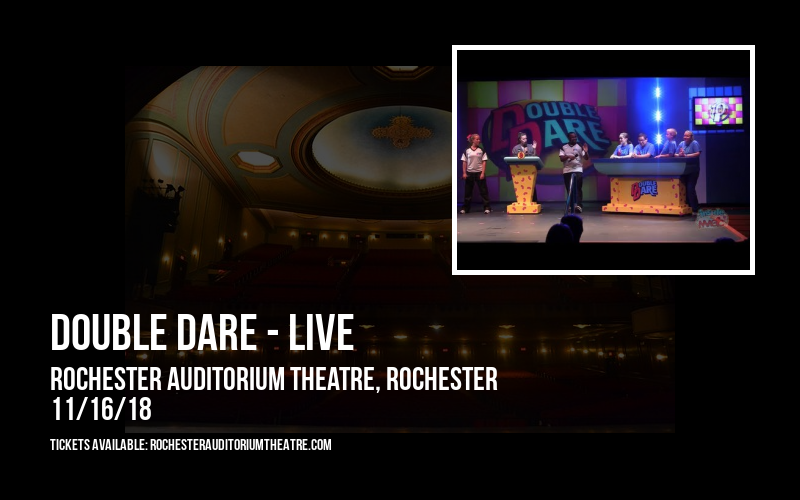 Double Dare - Live at Rochester Auditorium Theatre