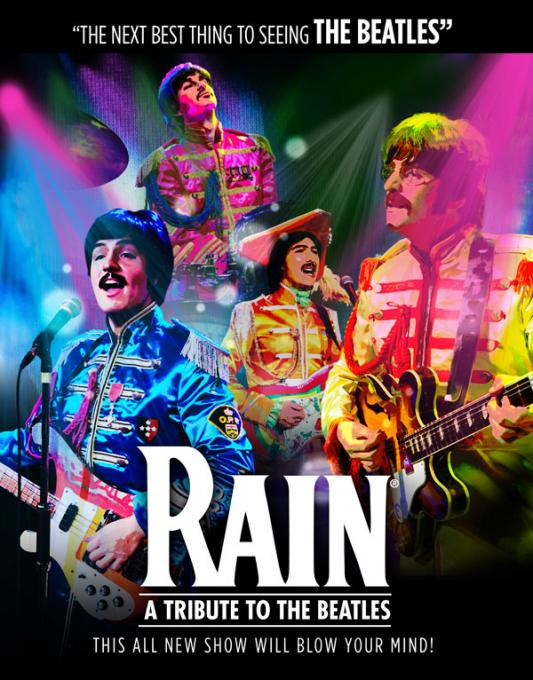 Rain - A Tribute to The Beatles at Rochester Auditorium Theatre