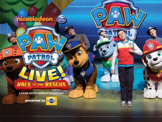 Paw Patrol Live at Rochester Auditorium Theatre