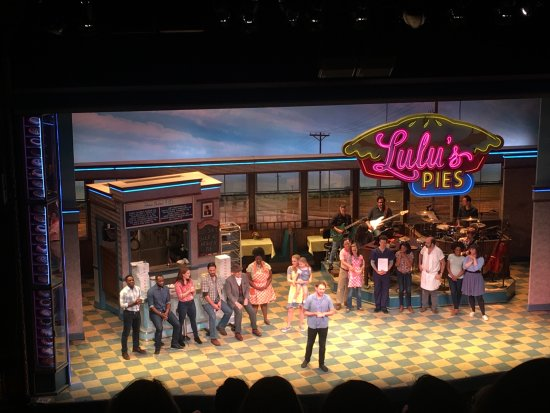 Waitress at Rochester Auditorium Theatre