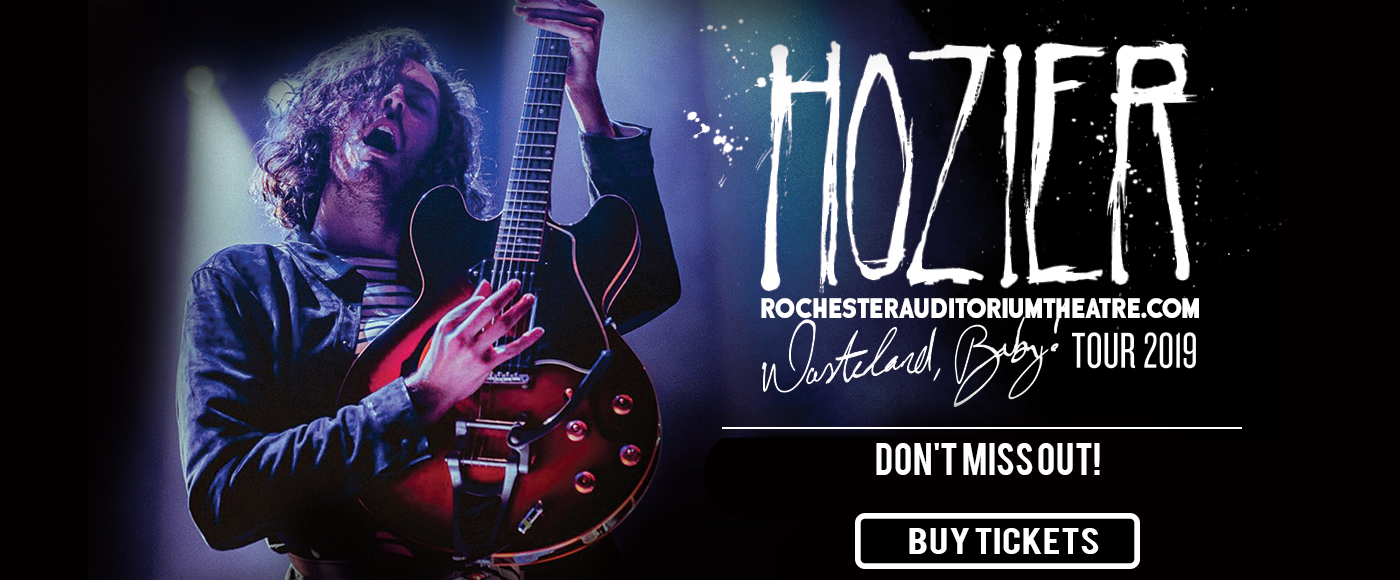 Hozier at Rochester Auditorium Theatre