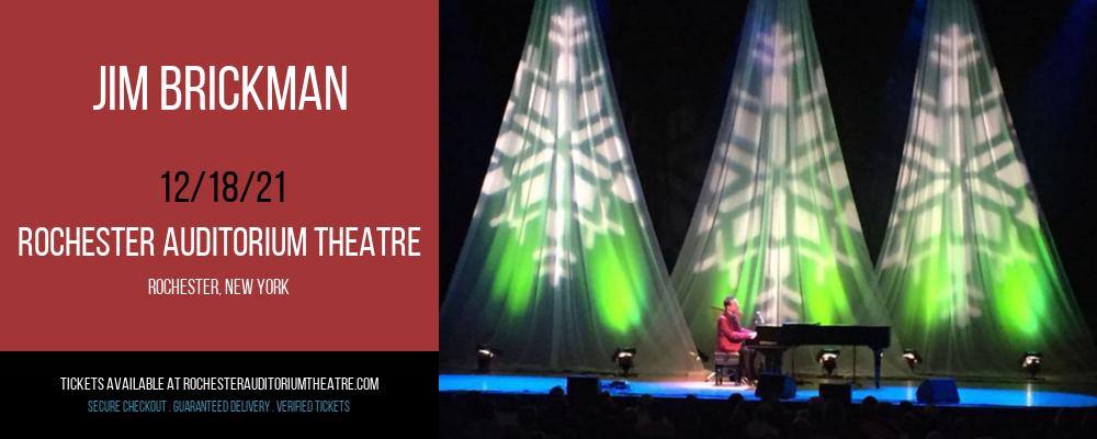 Jim Brickman at Rochester Auditorium Theatre